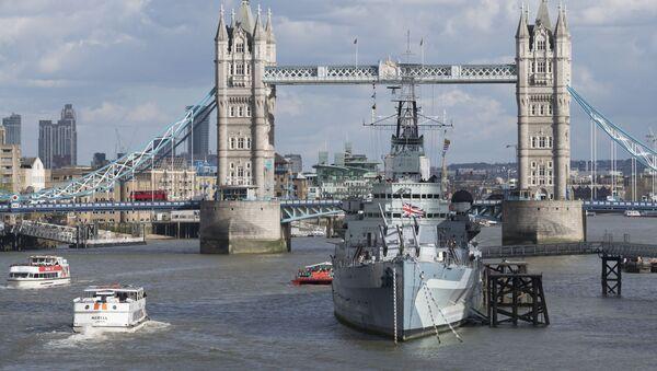 Londýn, Tower Bridge - Sputnik Česká republika