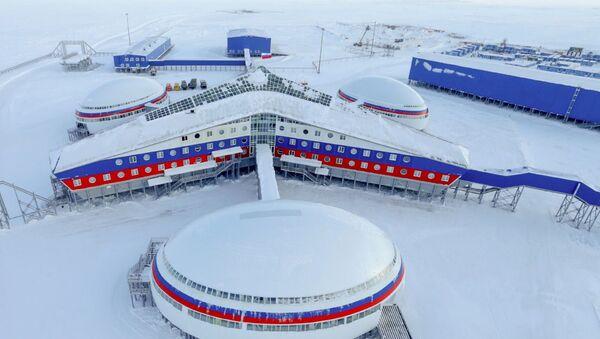 Vojenská základna Arktický trojlístek - Sputnik Česká republika