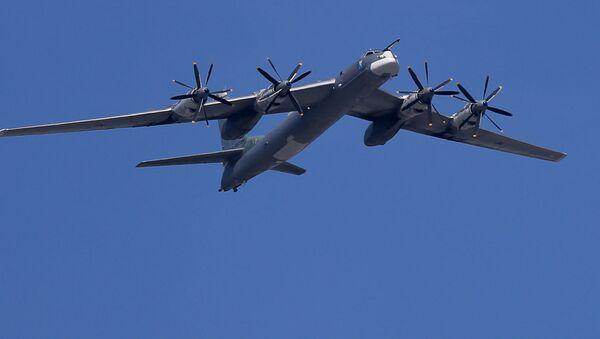 Strategické bombardéry Tu-95MS - Sputnik Česká republika
