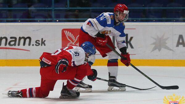 Hokejisté Martin Kaut a Andrej Svečnikov - Sputnik Česká republika