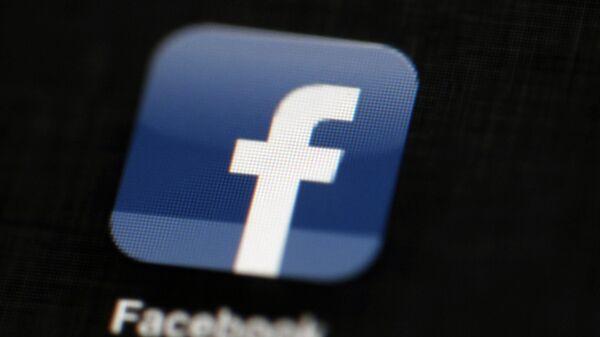 Logo sociální sítě Facebook - Sputnik Česká republika