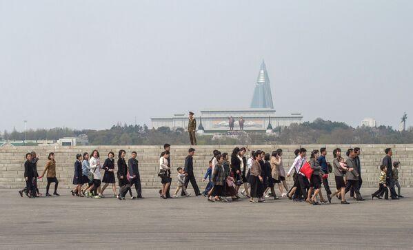 Všední den v Pchjongjangu - Sputnik Česká republika