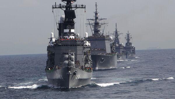 Japonské námořnictvo. Archivní foto - Sputnik Česká republika