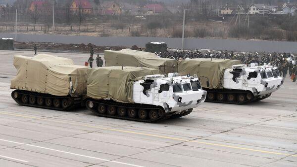 Pancíř-SA na základě dvousložkových pásových terénních vozidel DT-30 Vítěz - Sputnik Česká republika