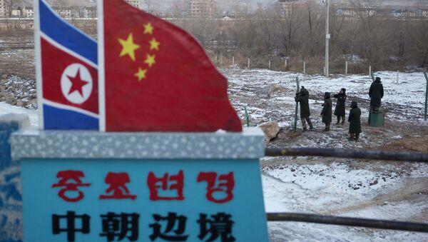 Hranice KLDR a Číny - Sputnik Česká republika