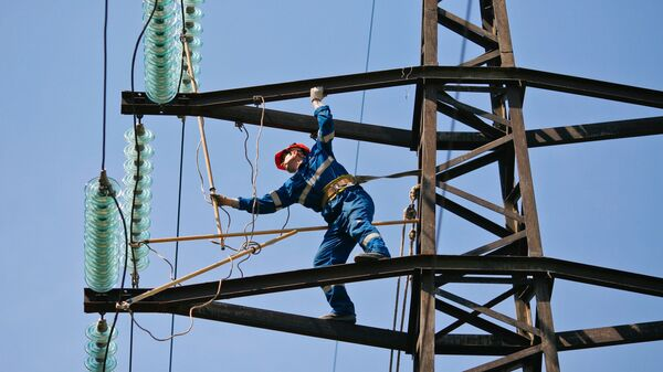 Oprava elektrického vedení - Sputnik Česká republika