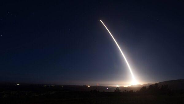 Zkouška rakety Minuteman III v USA - Sputnik Česká republika
