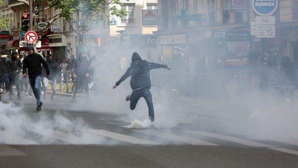 Protesty ve Francii - Sputnik Česká republika