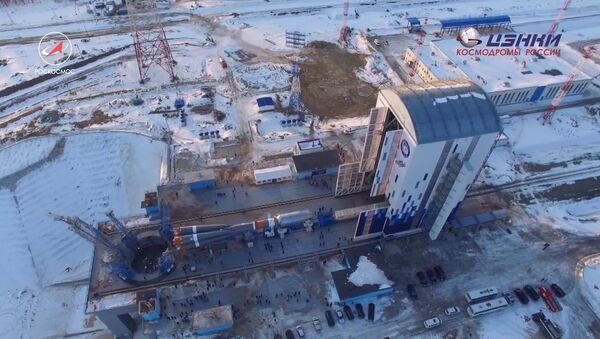 Záběry z kosmodromu Vostočnyj - Sputnik Česká republika