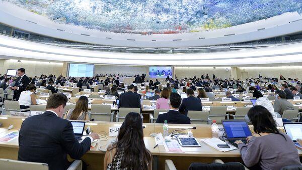 Zasedání Rady pro lidská práva OSN - Sputnik Česká republika
