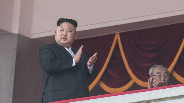 Hlava KLDR Kim Čong-un - Sputnik Česká republika