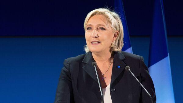 Kandidátka na prezidenta Francie za stranu Národní fronta Marine Le Penová - Sputnik Česká republika