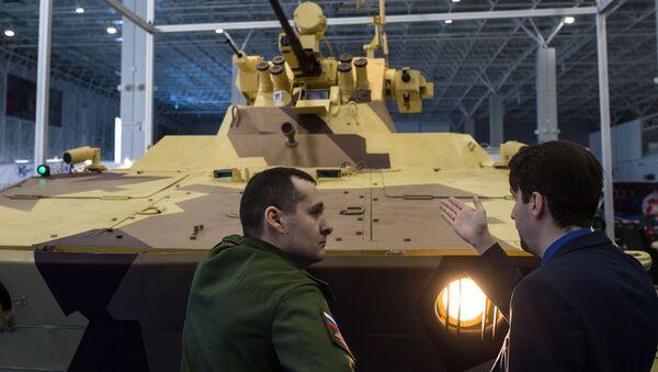 Tank Vichr - Sputnik Česká republika
