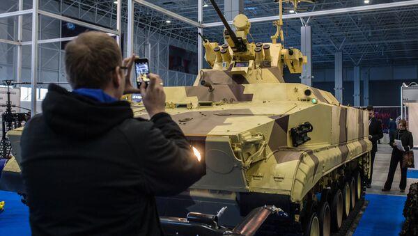 Bojové vozidlo Vichr - Sputnik Česká republika