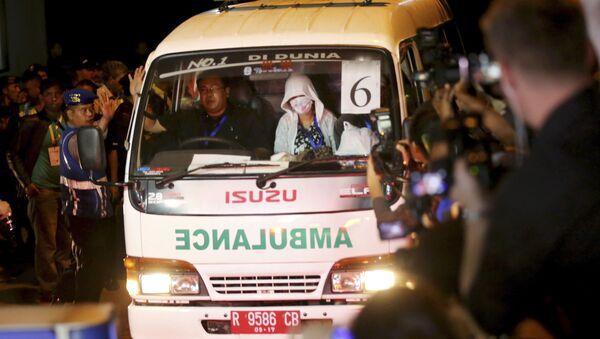Indonésijská ambulance - Sputnik Česká republika