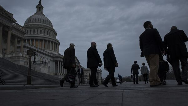 Budova Kongresu USA ve Washingtonu - Sputnik Česká republika