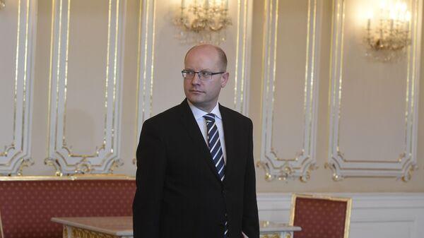 Český premiér Bohuslav Sobotka - Sputnik Česká republika