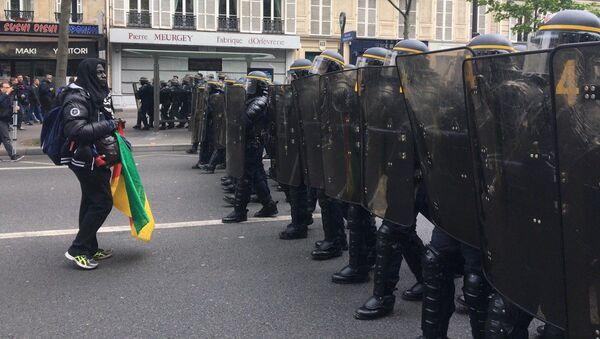 Protestní akce - Sputnik Česká republika