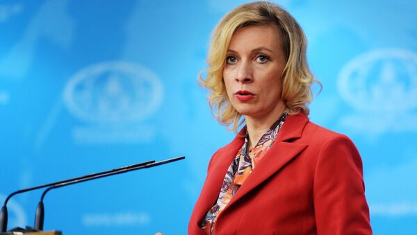 Oficiální zástupkyně ruského MZV Maria Zacharovová - Sputnik Česká republika