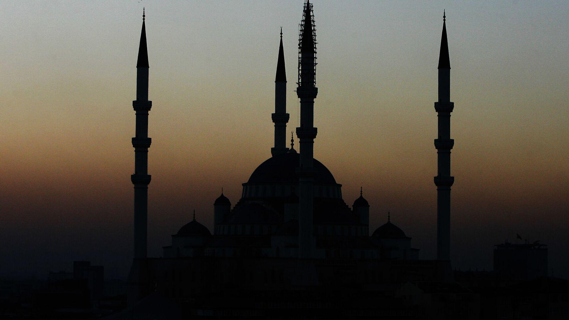 Pohled na mešitu v Ankaře  - Sputnik Česká republika, 1920, 27.04.2021