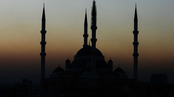 Pohled na mešitu v Ankaře - Sputnik Česká republika