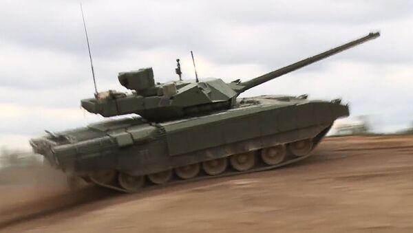 Танк T-14 Armata - Sputnik Česká republika