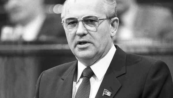 Michail Sergejevič Gorbačov - Sputnik Česká republika