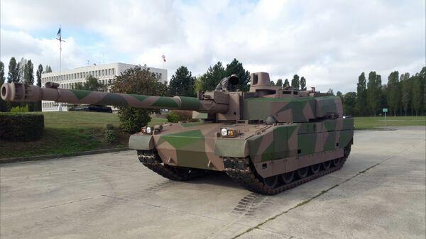 Francouzský tank Leclerc  - Sputnik Česká republika