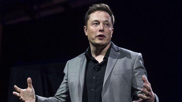 Zakladatel a ředitel Tesla Inc a SpaceX Elon Musk - Sputnik Česká republika