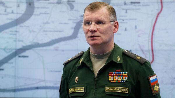 Oficiální mluvčí ministerstva generálmajor Igor Konašenkov - Sputnik Česká republika