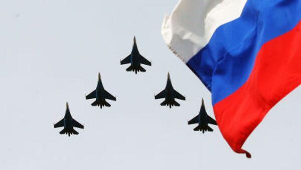 Letecká akrobatická skupina Russkije Vi'tazi - Sputnik Česká republika