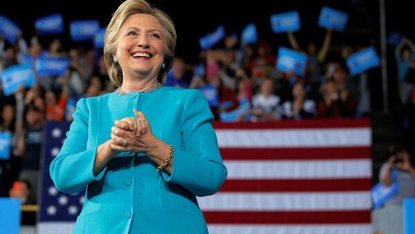 Bývalá kandidátka na prezidenta USA Hillary Clintonová. Ilustrační foto - Sputnik Česká republika
