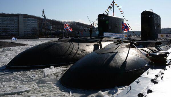 Ruská ponorka projektu 877 Paltus - Sputnik Česká republika