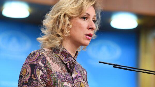 Oficiální mluvčí MZV Ruska Maria Zacharovová - Sputnik Česká republika