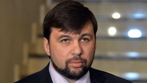 Denis Pušilin - Sputnik Česká republika