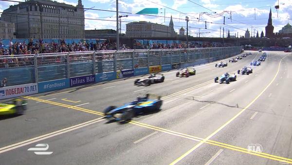 Závody Formule E v centru Moskvy - Sputnik Česká republika