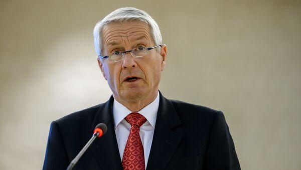 Předseda Rady Evropy Thorbjørn Jagland - Sputnik Česká republika