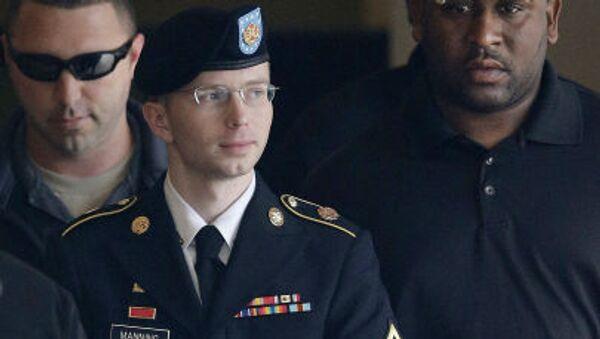 Voják armády Spojených států Bradley Manning - Sputnik Česká republika