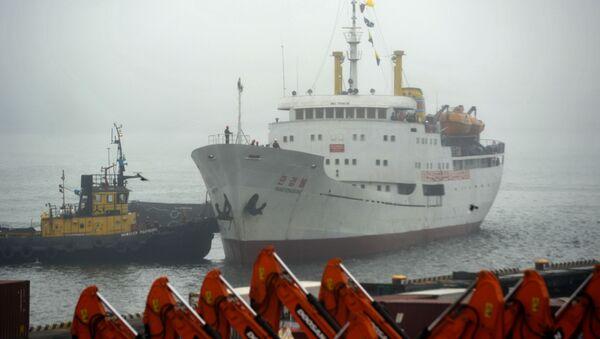První parník z KLDR připlul do Vladivostoku - Sputnik Česká republika
