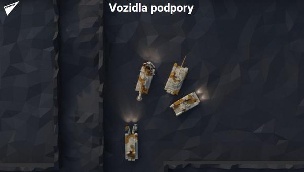 Vozidla podpory - Sputnik Česká republika