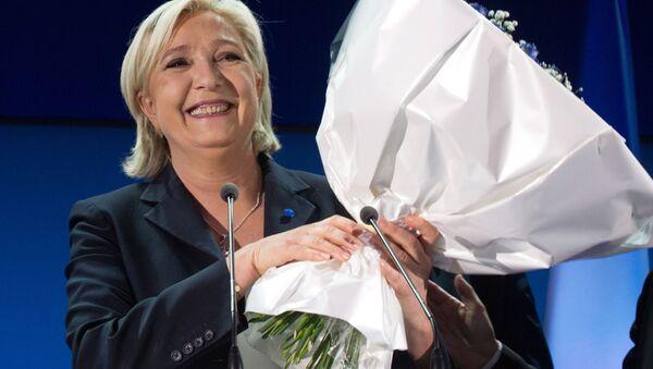 Předsedkyně Národní fronty Marine Le Penová - Sputnik Česká republika