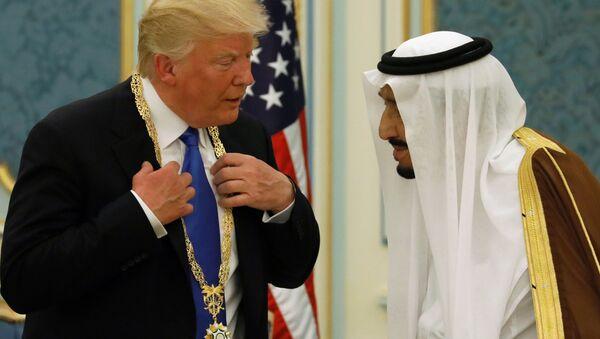 Návštěva Donalda Trumpa Saúdské Arábie - Sputnik Česká republika