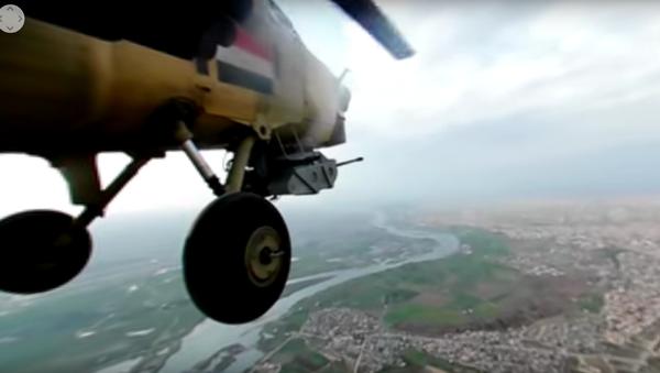 Na webu se objevilo panoramatické video bojového letu Mi-28 - Sputnik Česká republika