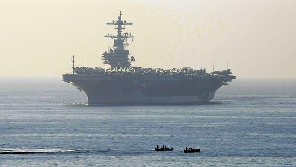 Americká letadlová lod' George H. W. Bush. Ilustrační foto - Sputnik Česká republika