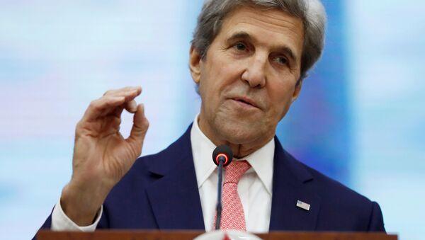 Bývalý ministr zahraničí Spojených států John Kerry - Sputnik Česká republika