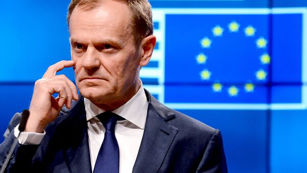 Předseda Evropské rady Donald Tusk - Sputnik Česká republika