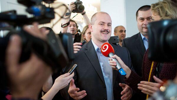 Lídr Našeho Slovenska Marian Kotleba - Sputnik Česká republika