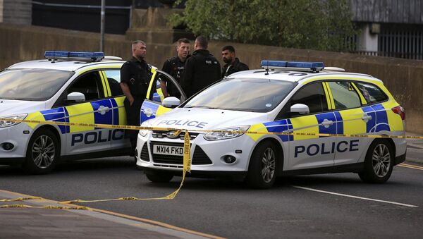 Policie v Manchesteru. Ilustrační foto - Sputnik Česká republika