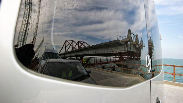 Stavba Krymského mostu - Sputnik Česká republika