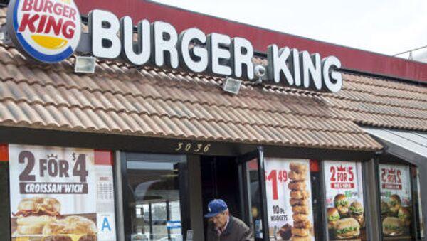Síť rychlého občerstvení Burger King - Sputnik Česká republika